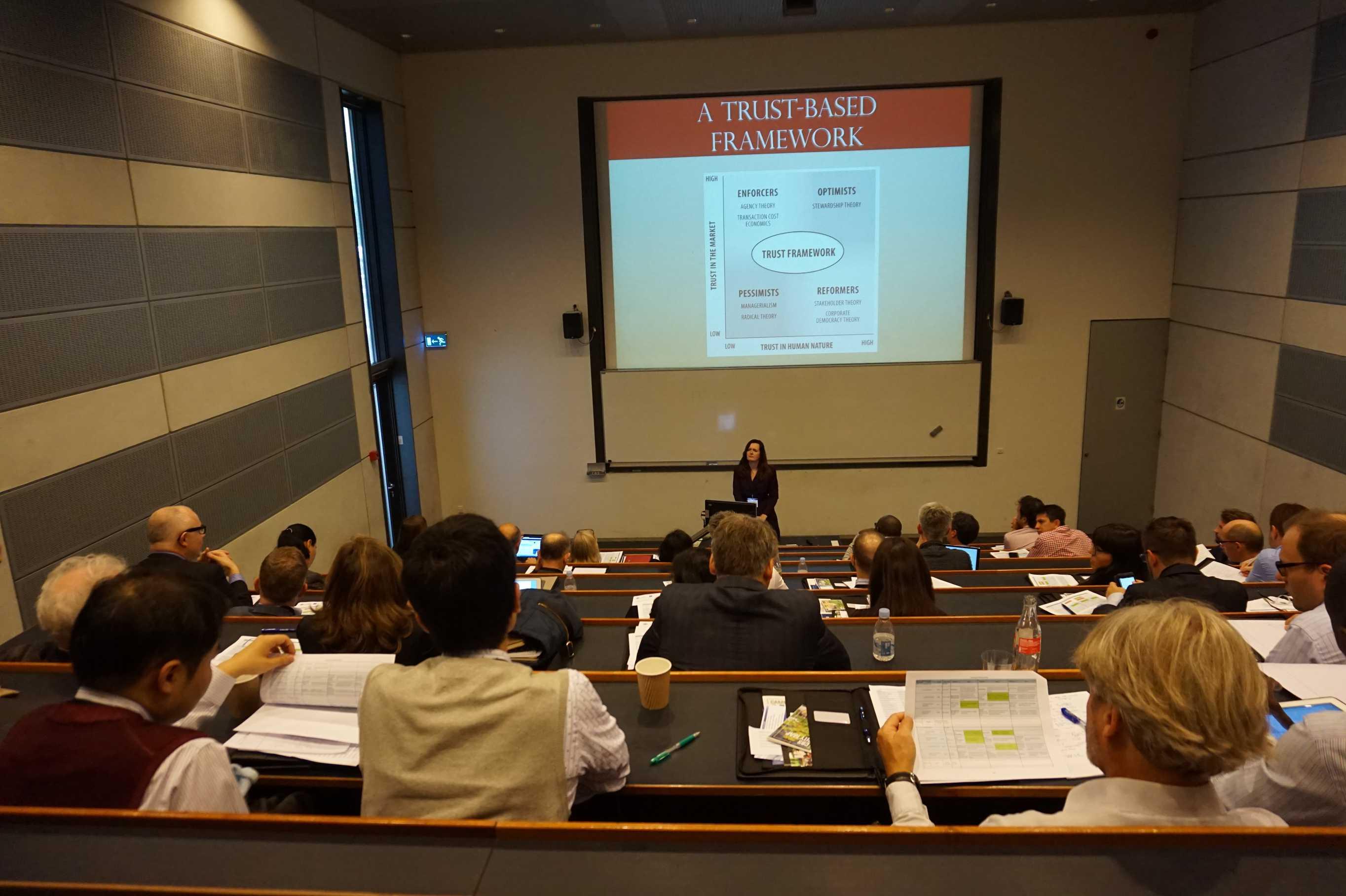 Lori V. Ryan presents award-winning ideas