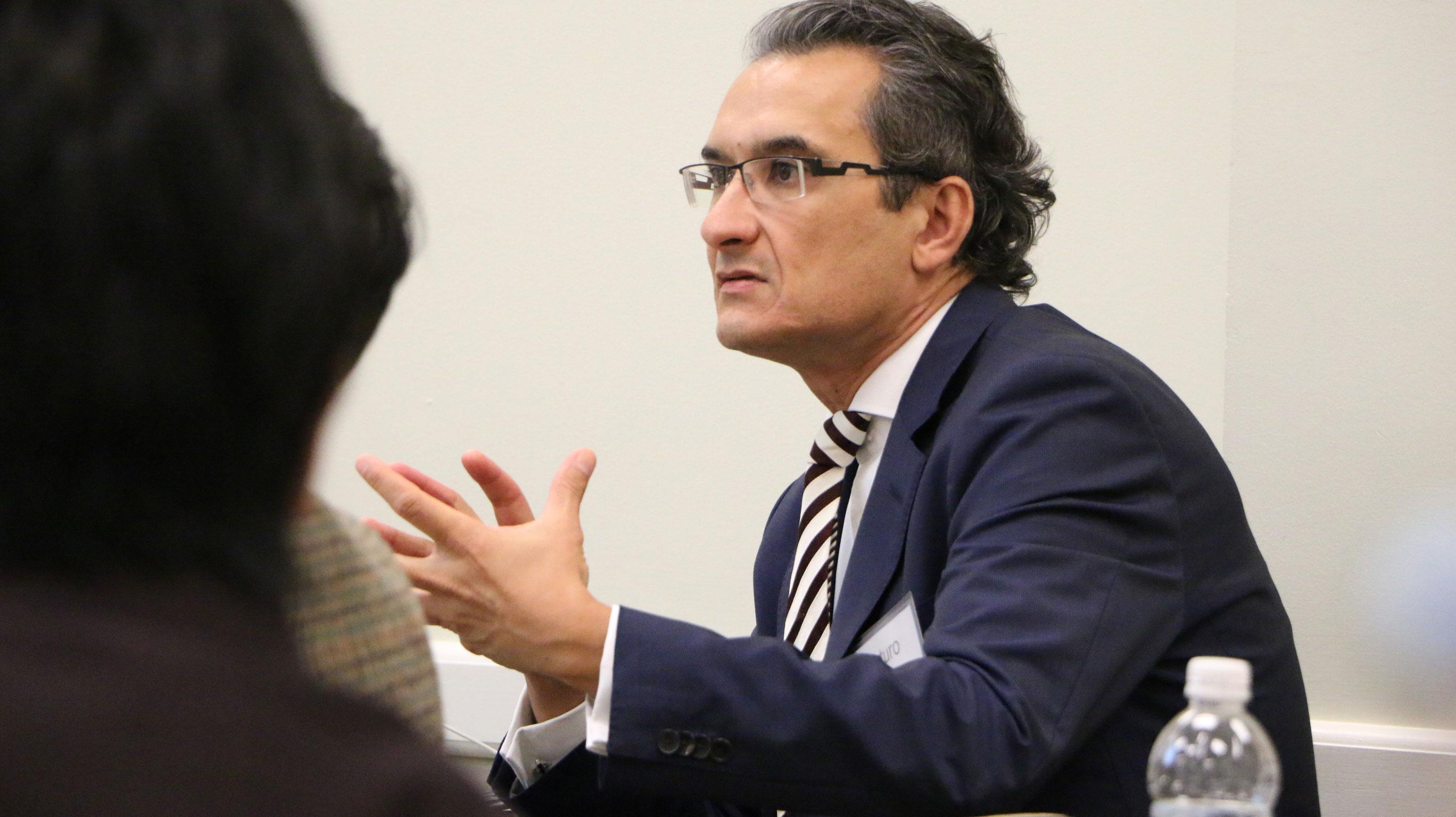 Panelist Arturo Bris