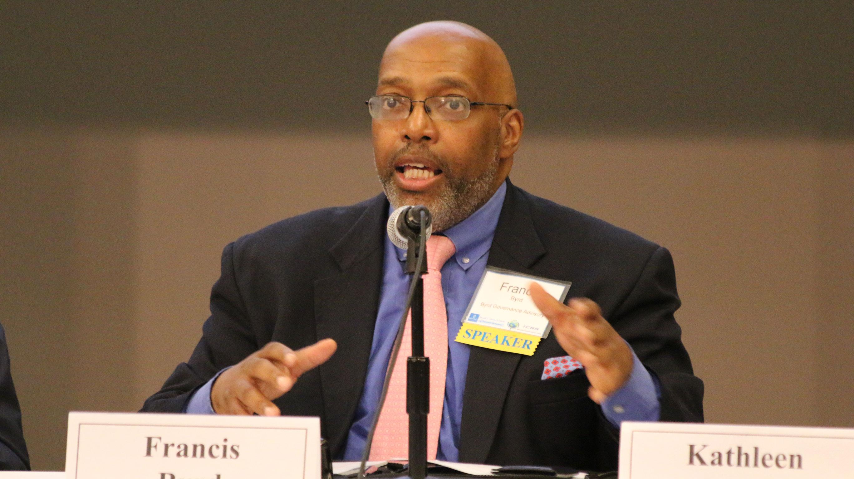Distinguished Panelist Francis Byrd