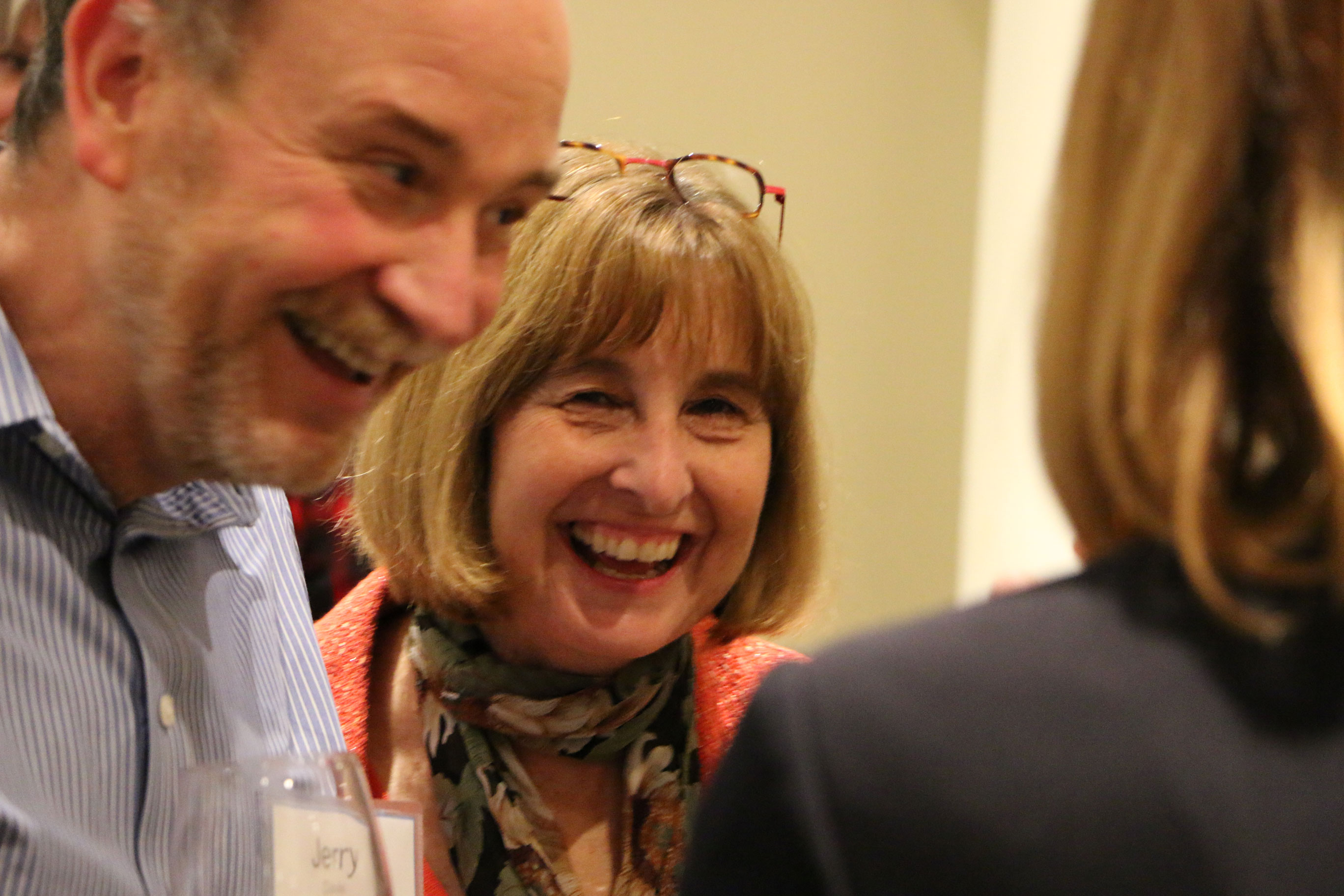Having a laugh with Keynote Speaker Jerry Davis